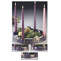 """Journey to Bethlehem"" Advent Wreath"