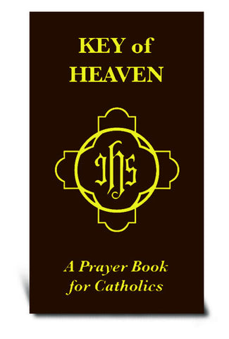 Key of heaven - A prayer book for Catholics (Brown Flexible Cover)