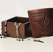 Confirmed in Christ Pewter keepsake box