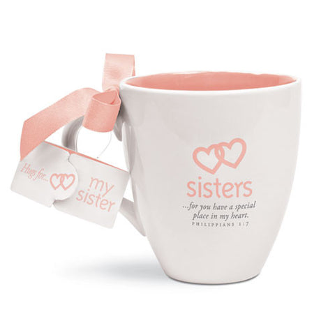 CUP OF HUGS FOR SISTERS