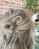 Brass and Copper Hair Pins