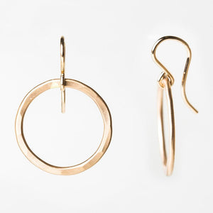 E101 - Small Circle Earring
