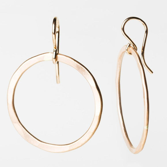 E103 - Large Circle Earring
