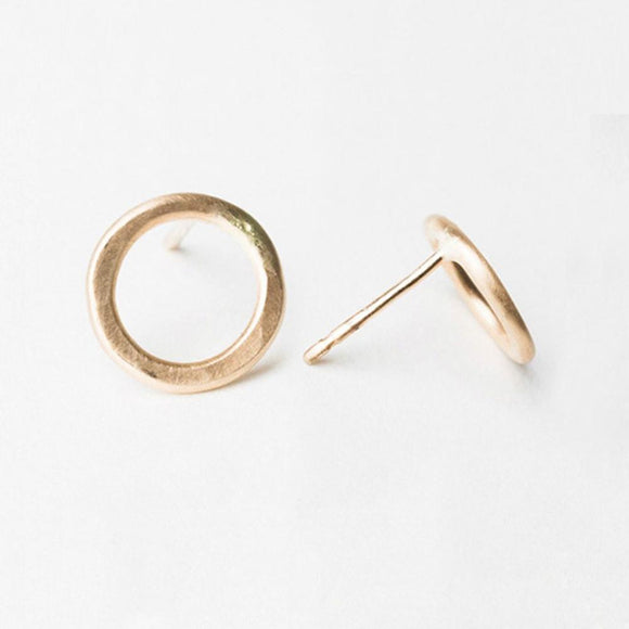 E108 - Small Circle Post Earring