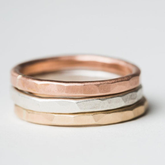 Stacking rings - Jeweler's Choice Set