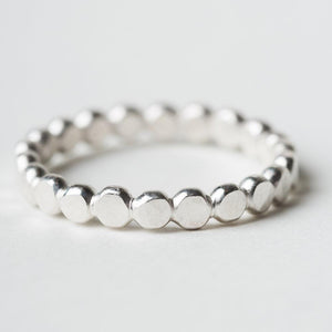 R410 - Beaded Stacking Ring