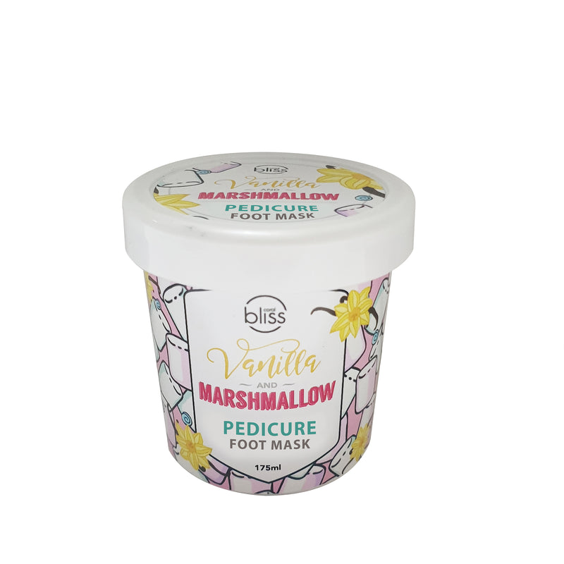 Vanilla & Marshmallow  Pedicure Foot Mask - 175mL