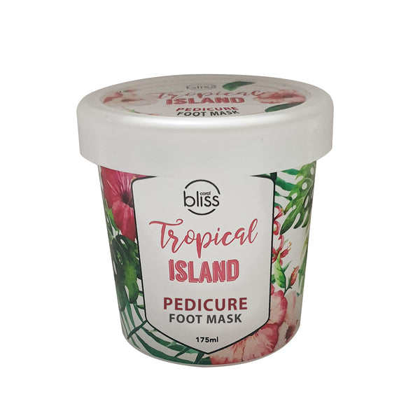 Tropical Island Pedicure Foot Mask- 175mL