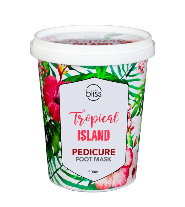 Tropical Island Pedicure Foot Mask - 500 mL
