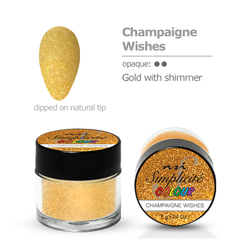 Champagne Wishes 7g Polydip Powder