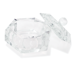 Glass Dappen Dish with Lid