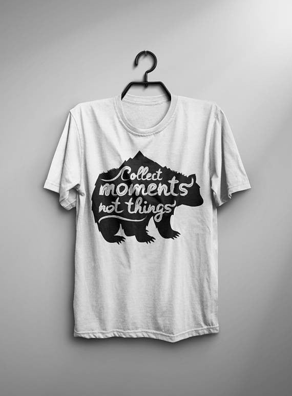 Collect Moments Bear T-Shirt - Shop My Adventure
