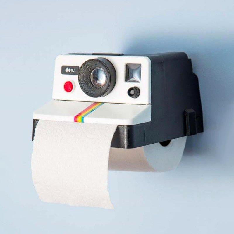 Polaroll Retro Camera Tissue Holder
