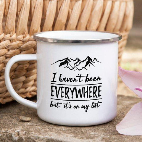 I Haven't Been Everywhere Mug
