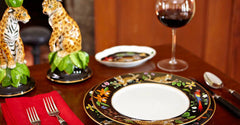 Jaguar Jungle Dinnerware by Lynn Chase