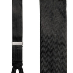 Braces / Suspenders - Herringbone Silk Formal