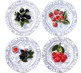 Canape Plate set of 4