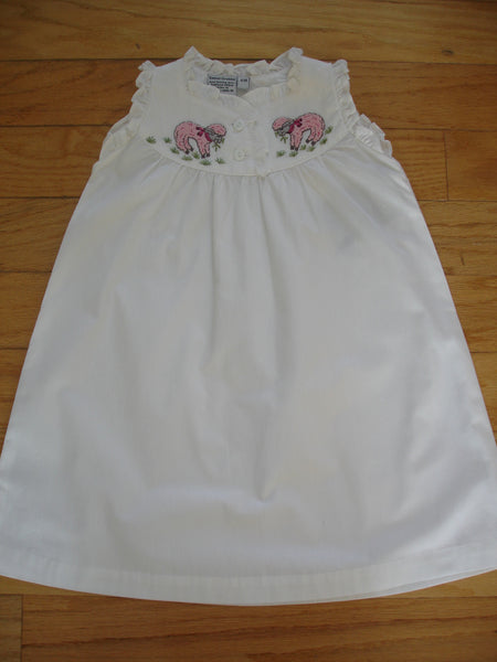 Ruffled Cotton Nightgown