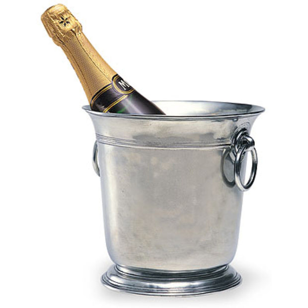 Pewter Ice Bucket By Match Pewter