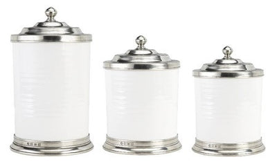 Convivio Canisters By Match Pewter