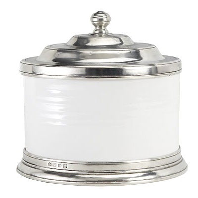 Convivio Cookie Jar By Match Pewter