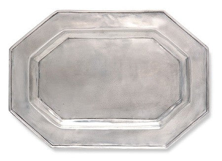Octagonal Tray by Match Pewter