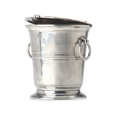 Ice Bucket With Lid By Match Pewter
