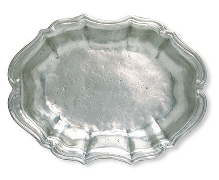 Queen Anne Oval Bowl By Match Pewter