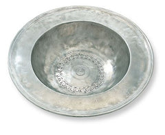 Wide Rimmed Bowl By Match Pewter