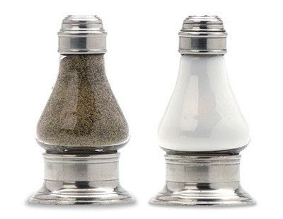 Sienna Salt & Pepper Shaker Set By Match Pewter