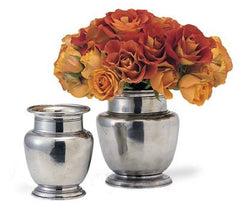 Rimmed Vases By Match Pewter