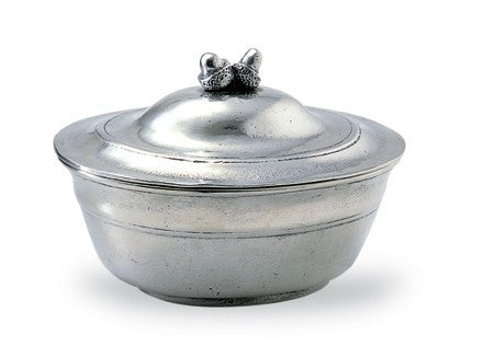 Pewter Acorn Lidded Bowl by Match