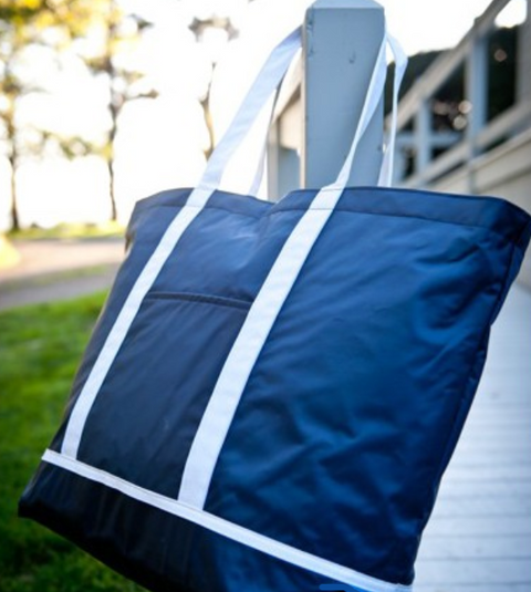 Harbour zippered Tote
