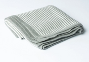 Reversible Striped Blanket