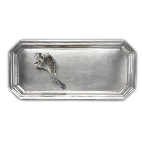 Pewter Dolomiti Vanity Tray by Match Pewter