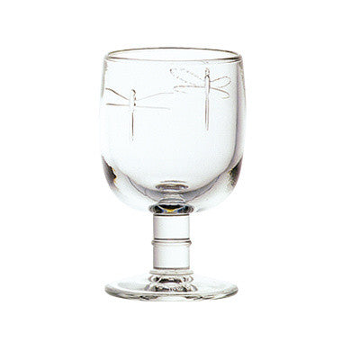 French Glassware - Dragonfly
