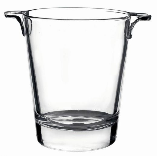 Island Glass Ice Bucket