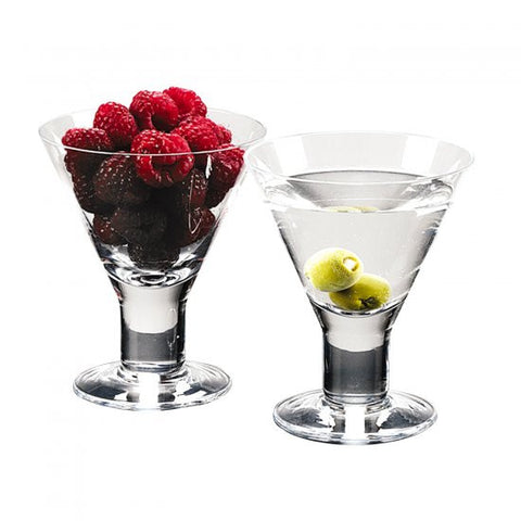 Martini Thick Stem Glass