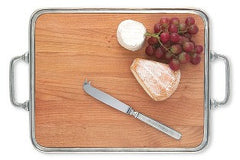Pewter Cheese Tray XL