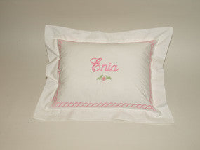 Chain Link Border Baby / Boudoir Pillow