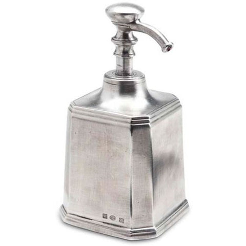 Pewter Dolomiti Soap Dispenser by Match Pewter