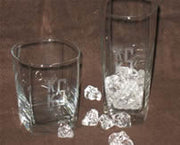 Square Glass Tumbler / Highball