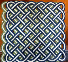 123-Two Tone Trellis Placemat