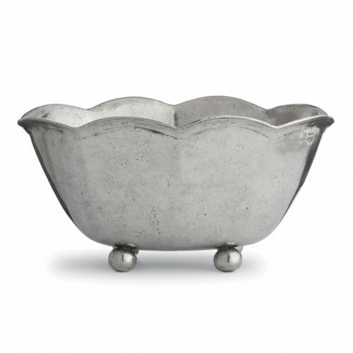 Vintage Scalloped Bowl By Arte Italica