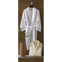 Hotel Waffle Terry Robe by Kassatex