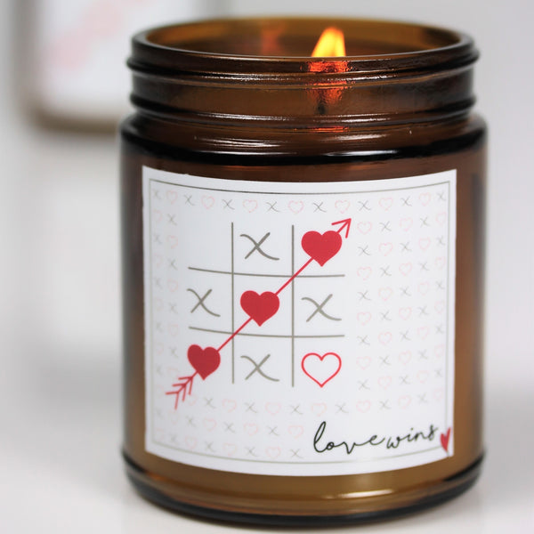 Love Amber Jar Candle