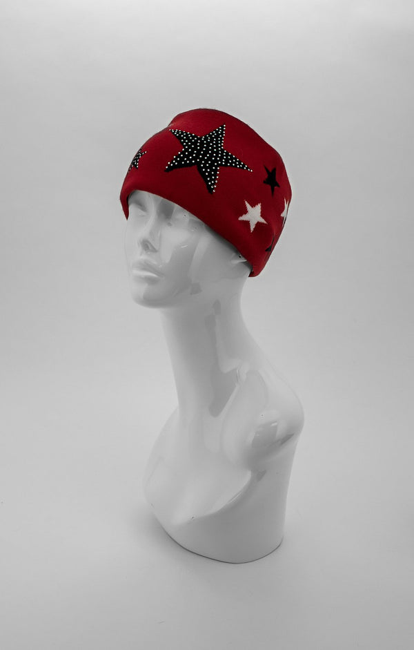 Knitted Headband With Star