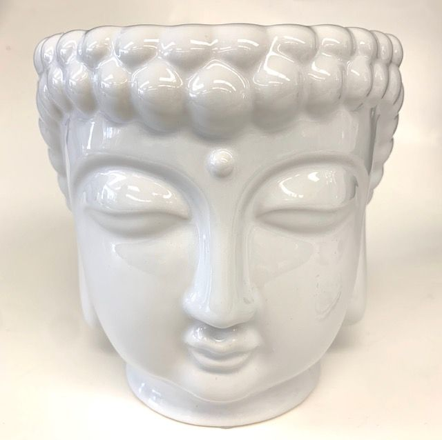 Decorative 3-Wick Buddha Candle