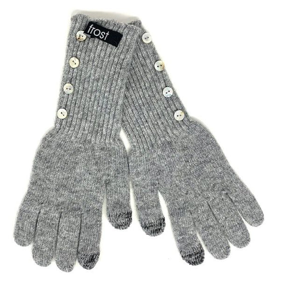 Frost Four Button Long Gloves