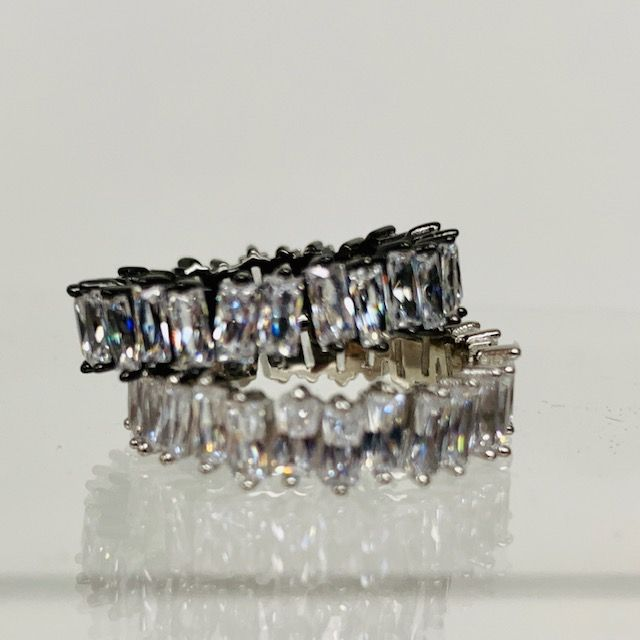 Tapered Baguette Eternity Bands